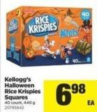 Kellogg's Halloween Rice Krispies Squares 40 Count - 440 g