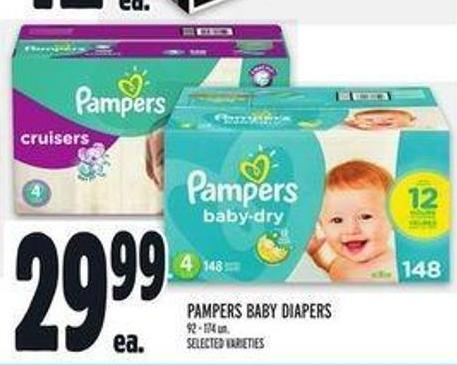 Pampers Baby Diapers