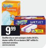Swiffer Dry Or Wet Sweeper Cloths 24/32's - Duster Refills 10's Or Dusters 360º Refills 6's