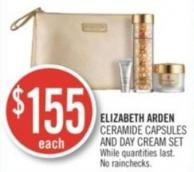 Elizabeth Arden Ceramide Capsules And Day Cream Set