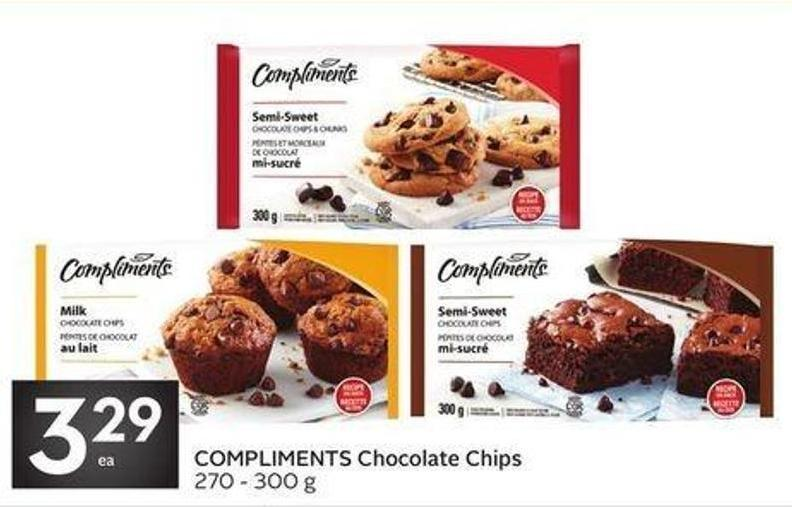 Compliments Chocolate Chips