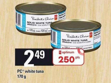 PC White Tuna - 170 g