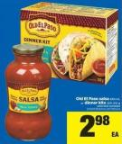 Old El Paso Salsa - 650 Ml Or Dinner Kits - 250-510 G