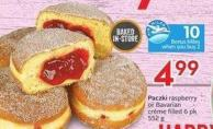 Paczki Raspberry or Bavarian Crème Filled 6 Pk 552 g - Air Miles Bonus Miles