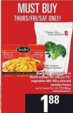 Stouffer's - Lean Cuisine Or Bistro Entrées - 167-340 G Or PC Vegetables - 500-750 G