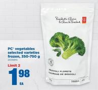 PC Vegetables - 350-750 g