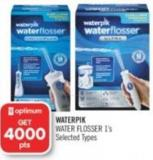 Waterpik Water Flosser 1's