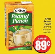 Grace Peanut Punch 240 mL