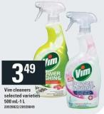 Vim Cleaners - 500 Ml-1 L