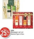 Coty Fragrance Gift Set