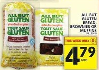 All But Gluten Bread - Brownies Or Muffins