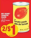 No Name Tomato Paste - 156 mL
