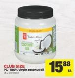 PC 100% Virgin Coconut Oil - 1.6 L