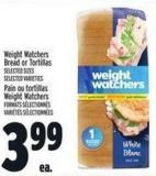 Weight Watchers Bread Or Tortillas