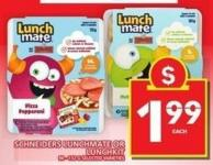 Schneiders Lunchmate Or Lunchkit
