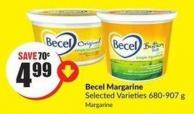 Becel Margarine Selected Varieties 680-907 g