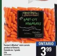 Farmer's Market Mini Carrots - 2 Lb