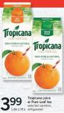 Tropicana Juice Or Pure Leaf Tea - 1.54-1.75 L