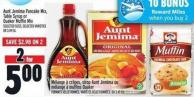 Aunt Jemima Pancake Mix - Table Syrup Or Quaker Muffin Mix