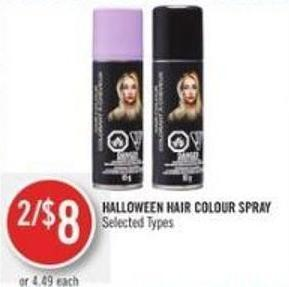 Halloween Hair Colour Spray
