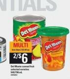 Del Monte Canned Fruit - 540/796 mL