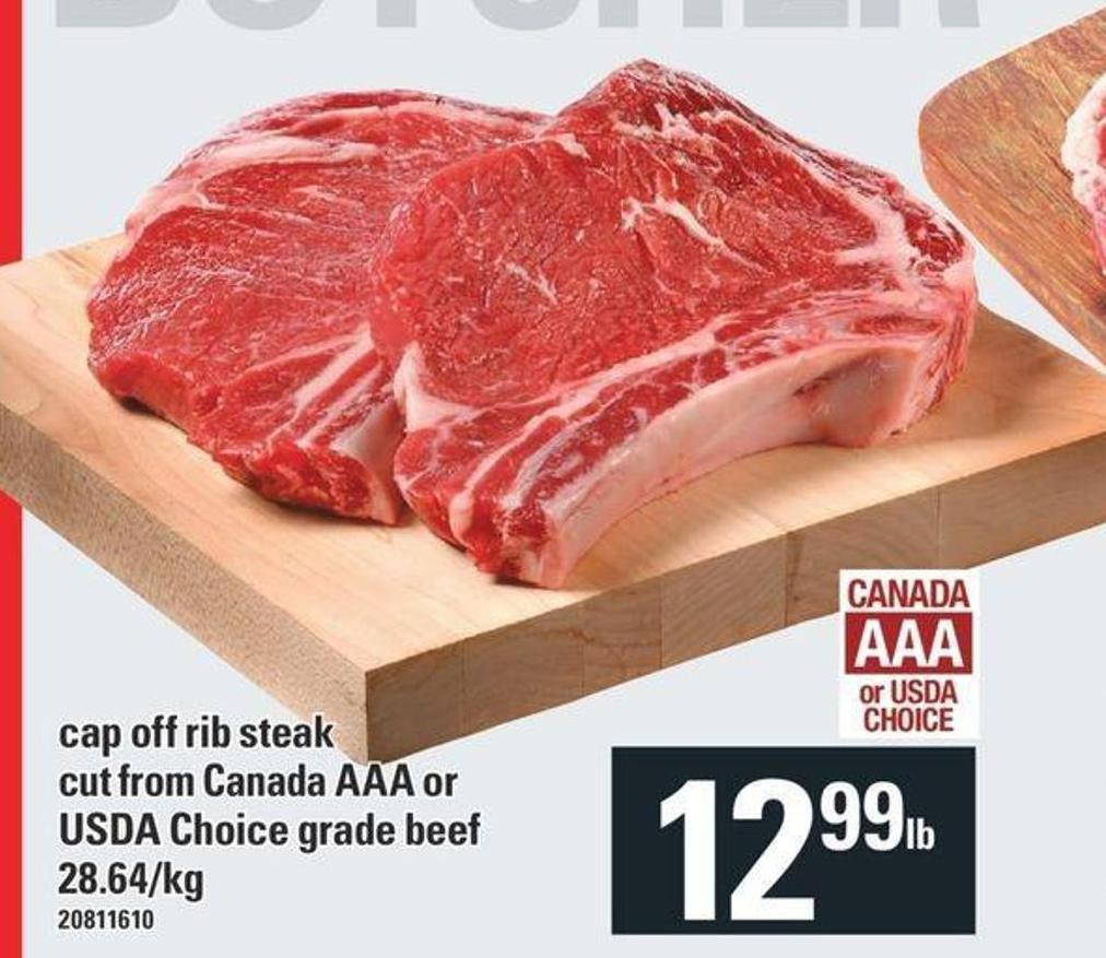 Cap Off Rib Steak