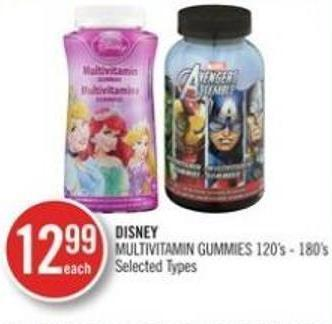 Disney Multivitamin Gummies 120's 180's