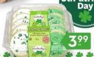 Kimberley's Bakeshoppe Sugar Frosted St. Patrick's Day Cookies