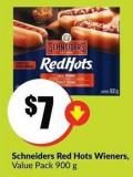 Schneiders Red Hots Wieners Value Pack 900 g