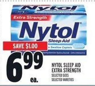 Nytol Sleep Aid Extra Strength