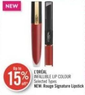 L'oréal Infallible Lip Colour