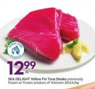 Sea Delight Yellow Fin Tuna Steaks