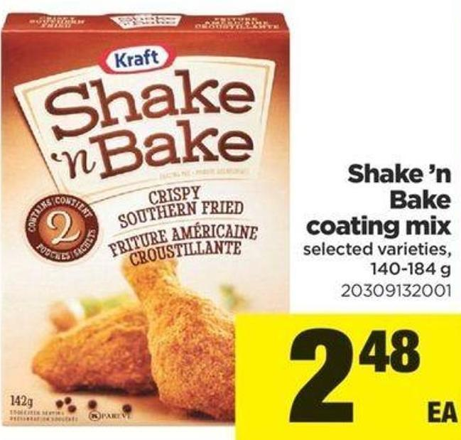 Shake'n Bake Coating Mix - 140-184 g