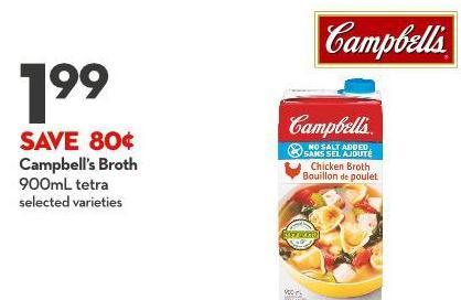 Campbell's Broth 900ml Tetra