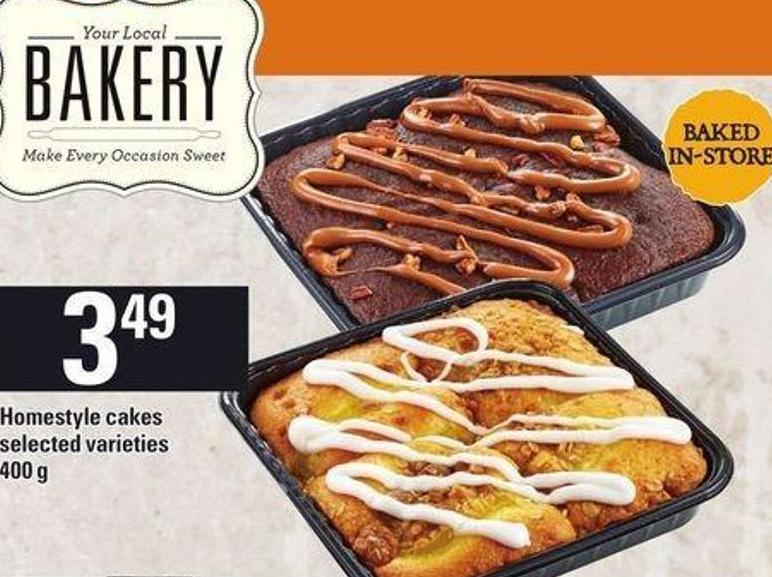 Homestyle Cakes - 400 g
