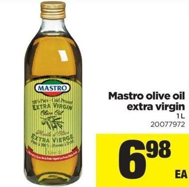 Mastro Olive Oil Extra Virgin - 1 L
