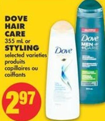 Dove Hair Care - 355 mL or Styling