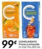 Compliments Frozen Lemonade