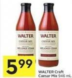 Walter Craft Caesar Mix 946 ml