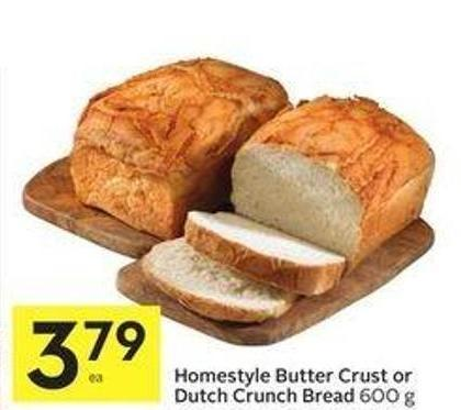 Butter Crust Bread