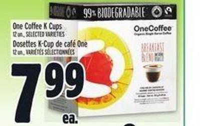 One Coffee K Cups