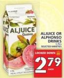 Aljuice Or Alphonso Drinks