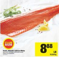 Fresh - Atlantic Salmon Fillets