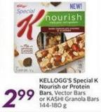 Kellogg's Special K Nourish or Protein Bars