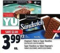 Chapman's Yukon Or Super Novelties