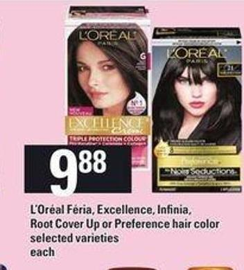 L'oréal Féria - Excellence - Infinia - Root Cover Up Or Preference Hair Color - Each