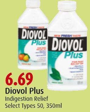Diovol Plus Indigestion Relief