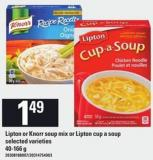 Lipton Or Knorr Soup Mix Or Lipton Cup-a-soup - 40-166 g