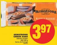Armstrong Cheese Bars - 400-500 g