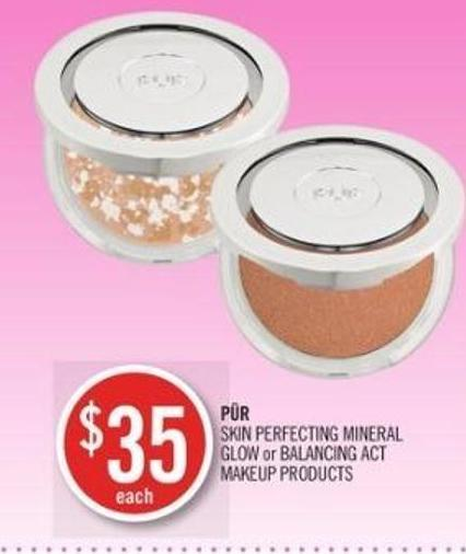 Pür Skin Perfecting Mineral Glow or Balancing Act Makeup Products